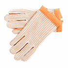 Mens / Ladies Genuine Leather Driving Gloves with Crochet Ventilation Knit