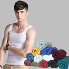 New Top Quality Men's Premium Cotton A-Shirt Muscle Ribbed Wife Beater/Tank Top