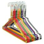 Mixed Multi Coloured Metal Wire Coat  Clothes Hangers Trouser 40cm Hangerworld