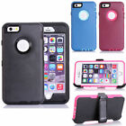 TPU Heavy Duty Defender ShockProof Case Cover W/Belt Clip For iphone 6 Plus 5.5""
