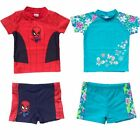 PROTECTION SUIT UV 40+ SUNSUIT SUN SAFE BOYS OR GIRLS SPIDERMAN SWIMWEAR SUNSAFE