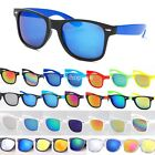 New Mens Womens Wayfarer Sunglasses Vintage Retro Classic Mirror