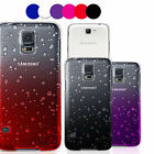 Accessories For Samsung Galaxy 3D Rain Drop Back Hard Case Cover Protector Skin