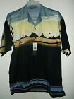 NWT PAINTED DESERT HAWAIIAN SHIRT  colorful badlands and butts SIZE M L or XL
