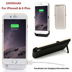 New 10000mAh Power bank case pack battery Charger cover for iPhone6 4.7 & 6 Plus