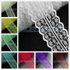 10yards 45mm Embroidered Fabric Lace Bilateral Trims Ribbon Sewing Craft 33Color