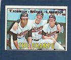 1967 Toops #1 The Champs - ex/mt+
