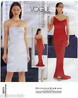 fishtail pattern - Vogue 2277 Donna Karan NY Dress in 2 Lengths, Evening w/Fishtail Sewing Pattern