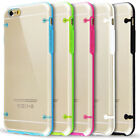 Portable Ultra Thin Glow TPU Rubber Gel Clear Case Cover for iPhone 6 Plus 5.5'