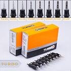 Pro 12pcs /box Tattoo Cartridge Needles TURBO Permanent Makup RL RS RM M1 Black