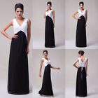 Maternity Plus Size Formal Evening Party Bridesmaid Wedding Gown Long Prom Dress