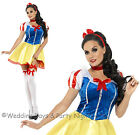 4-18 Sexy Snow White Costume Ladies Fairy Tale Fancy Dress Outfit Hen Night