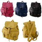 Vintage Women PU Leather Backpack Bookbags Satchel Rucksack Travel Shoulder Bag