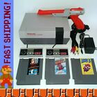 Nintendo NES Console System w Games - Super Mario Bros 1 2 3 - New 72 Pin!