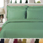 300 Thread Count Striped Duvet Covers, 100% Egyptian Cotton Duvet Cover Sets