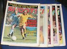 SHOOT!  MAGAZINE VARIOUS ISSUES 1977