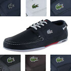 Lacoste Dreyfus Men's Leather Boat Shoes Fashion Sneakers