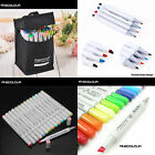 FINECOLOUR EF101 24/36/48/60/72/112 Colors Art Drawing Sketch Marker Pens&Bag