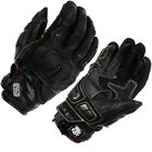 OXFORD RP-3 AQUA SHORT HIPORA WATERPROOF LEATHER ARMOUR MOTORCYCL SPORTS GLOVES