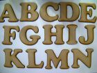 Laser Cut Wooden Letters 3mm MDF 75mm High Choose from List