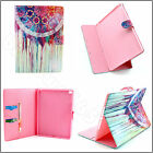 Novel Magnetic Flip PU Leather Book Stand Dream Catcher Case Cover For Tablets