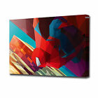 LARGE GEOMETRIC SPIDERMAN CANVAS PRINT EZ1177