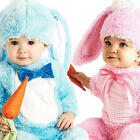 Cute Child Rabbits Fancy Dress Easter Bunny Animal Costume Childrens 0-18 Months