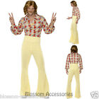 CL433 1960s Groovy Guy Hippie 1960s 1970s Retro Disco Mens Fancy Dress Costume
