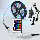 5-50M SMD 3528 Dimmable RGB 300 LED Strip Light + Remote For Home Bar Club Party