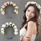 Flower Garland Floral Bridal Headband Hairband Wedding Party Hair Accessories