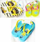 Official Despicable Me Minions Flip Flops Slip Ons Havaianas Beach Summer Kids
