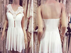 2015 Fashion Sexy Women Summer Bandage Bodycon Evening Party Lace Mini Dress New