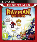 RAYMAN ORIGINS ESSENTIALS PS3 PLAYSTATION 3 VIDEO GAME BRAND NEW SEALED PAL