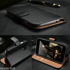 Real Genuine Leather Wallet Case Pouch Cover For Samsung Galaxy S4 i9500