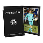 Personalised Chelsea FC Football Club Thibaut Courtois Autograph Photo Folder