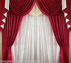 """SWAGS AND TAILS + CURTAINS, FITS 66"""" (167cm) Wide x 71"""" (180cm) drop. FREE POST"""