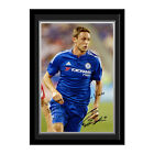 Personalised Chelsea FC Football Club Nemanja Matic Autograph Photo Framed