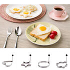 1PC Creative Stainless Steel Fried Egg Shaper Ring Pancake Mold Kitchen Tools