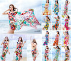 Women Sexy Chiffon Bikini Cover Up Beach Swimwear Dress Scarf Pareo Sarong Wrap