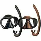 MARES Spearfishing PRO Diving Snorkelling Mask and Snorkel Set - X-VU Dual