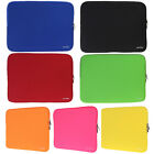 Solid Color 14-inch Notebook Laptop Soft Sleeve Case Bag Cover  7 Colors