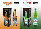 Super Latex Beer Bottle - Empty By Twister Magic - Watch Demo, choose colour