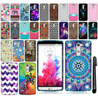 For LG G3 Stylus D690 D693 Cute Design TPU SILICONE Rubber Case Cover + Pen