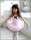 Girls Birthday Party Leotard Ballet Tutus Dress 3-8Y Princess Dancewear Skating