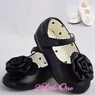 Mary Janes Shoes Toddler Size US 6.5-9 UK 5.5-8 Wedding Flower Girl Pageant #007