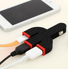 New Cactus Dual USB 3 Port Car Charger Speedy Adaptor for iPhone 4 S 5 Samsung