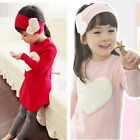 Baby's Girl Fashion Loving Heart Suit 3-piece Outfit Soft Clothing Outwear Cute