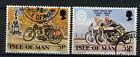 Isle Of Man 1973 SG#39-40 Manx Grand Prix Golden Jubilee Cto Used Set  #A78832