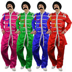 SERGEANT PEPPER MENS FANCY DRESS COSTUME 1960S ENGLISH BOY ROCK BAND OUTFIT