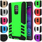 Dual Layer TPU Hybrid Case Super Slim Fit Armor for Samsung Galaxy Note 4